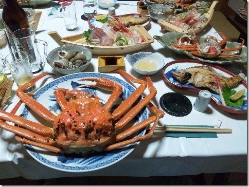 越前蟹料理