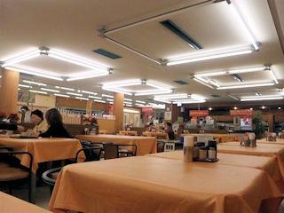 第二神明明石SAレストラン「カーディナル」二日目店内