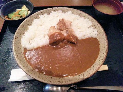 のみくい豚道楽とろける角煮カレー定食