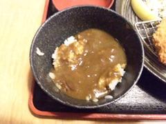 とんかつ華スープカレー