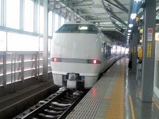 サンダーバード23号福井駅