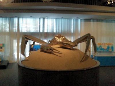 越前がにミュージアム蟹のモニュメント