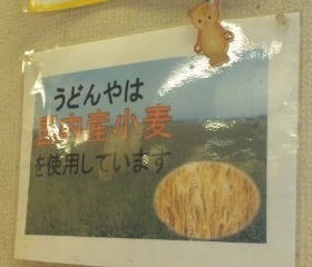 讃岐うどんや国内産小麦