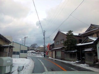 福井から三国温泉方面