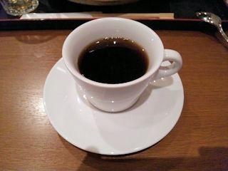 のみくい豚道楽食後のコーヒー