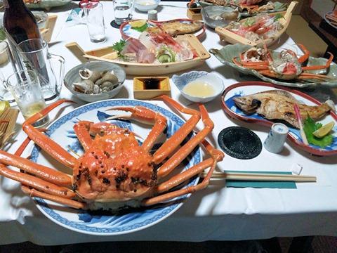 越前蟹フルコース