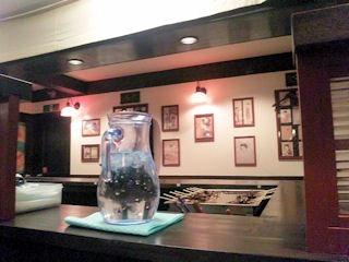 ラーメン・つけ麺桔梗屋の店内