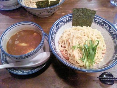 桔梗屋醤油つけ麺