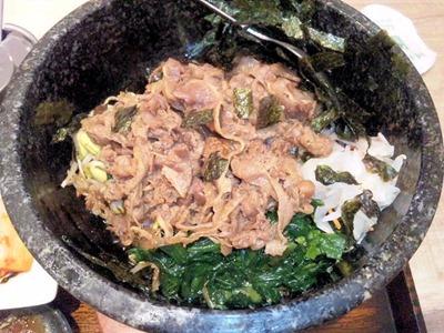豚組かうらい屋石焼焼肉ピビンバ