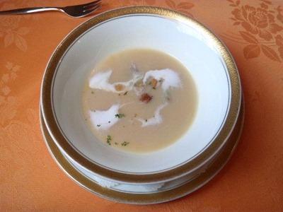 レストランアジュールじゃがいものスープ