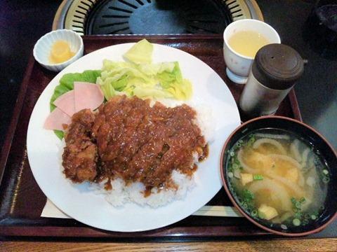 牛義加古川本店牛かつめし定食
