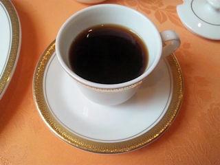 レストランアジュールのコーヒー
