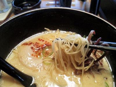 博多金龍ラーメン東加古川店やみつきラーメンの麺