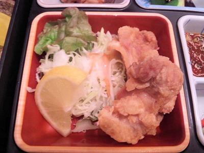 鳥光/三宮さんプラザ店特製弁当の唐揚げ