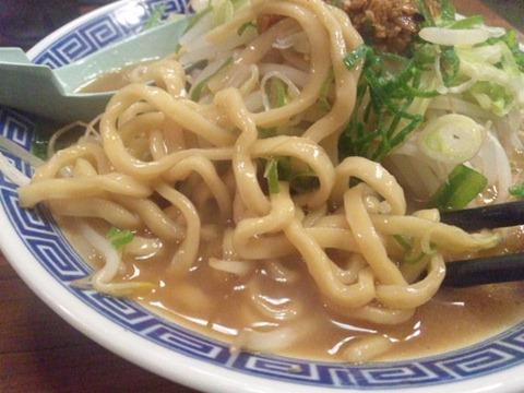 大盛軒加古川店元祖角ふじ麺の麺
