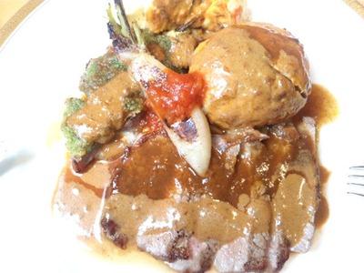 レストランアジュール牛肉料理