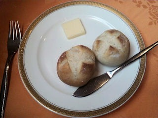 レストランアジュールのパン