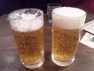 桔梗屋無料の生ビール