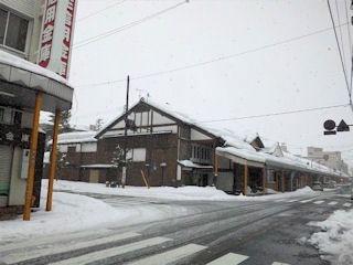 ヨコガワ分店のある武生商店街