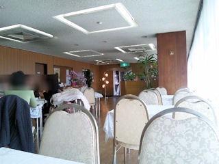 高砂文化会館レストラン花車店内