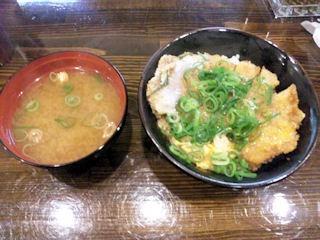 かつ丼吉兵衛カツ丼と味噌汁のセット