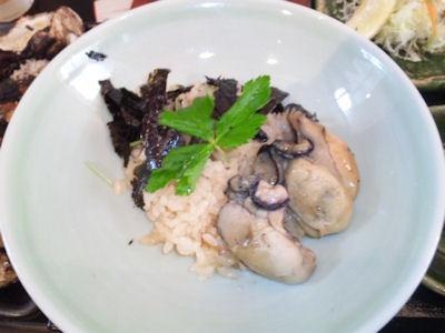 牡蠣屋牡蠣屋定食牡蠣ご飯
