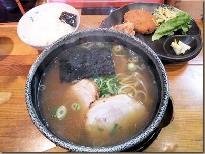 京風ラーメンめんくい亭日替り定食