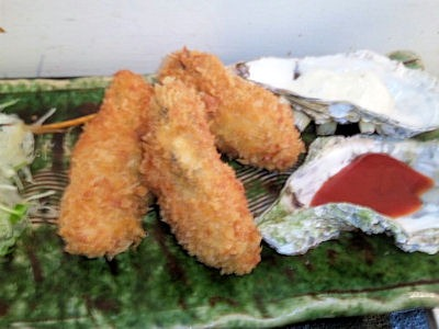 牡蠣屋牡蠣屋定食牡蠣フライ