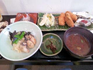 牡蠣屋牡蠣屋定食