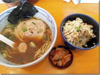 塩元帥/小野店Cセット(醤油ラーメン チャーマヨ丼)