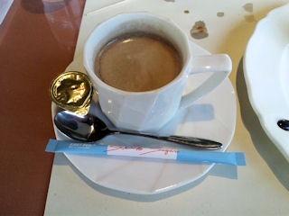 グルメ吉翔溶岩焼コースのコーヒー