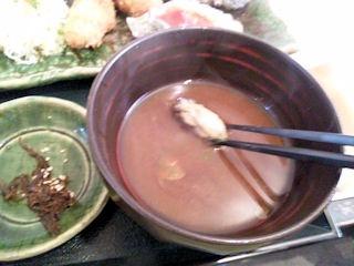 牡蠣屋牡蠣屋定食赤出汁