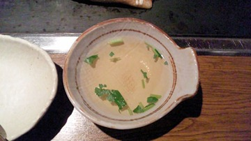 うまいもん横丁/高砂店とろじゅう焼定食のとろじゅう焼の出汁