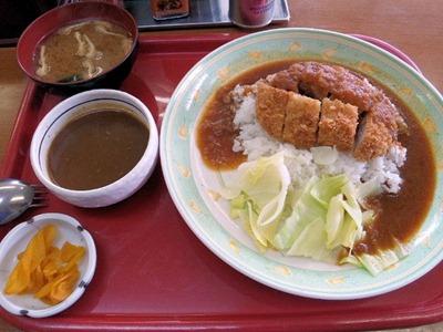 ヱスビーカレーの王様/権現湖店カツめしカレー定食