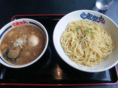 風雲丸濃厚豚骨魚介つけ麺(あつ盛)