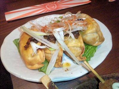 沖縄市場食堂琉金あぐー黒豚の揚げ餃子