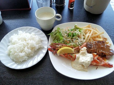 ビーフレストラン神蔓スペシャルランチ
