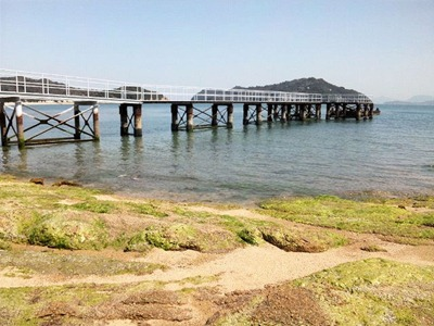 直島観光ベネッセハウス宿泊客専用桟橋