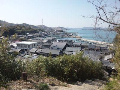 直島観光家プロジェクトのある町並み