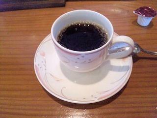 わふう菜館こんぺいとう無料のコーヒー