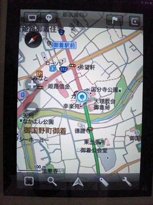 iPad2カーナビMapFan for iPhone