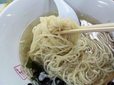 函館/らーめん家本舗ずん・どう塩ラーメンの麺