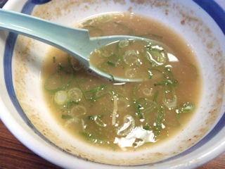 大盛軒/加古川店の豚骨魚介醤油味つけ麺