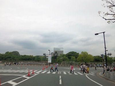 近畿・中国・四国B-1グランプリin姫路お城前の交差点