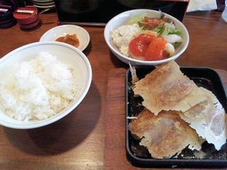 播州餃子・賀古里/賀古里餃子定食