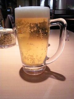 ごはん処やよい軒生ビール
