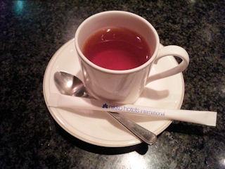 鉄板グリル銀杏/なごみランチの紅茶