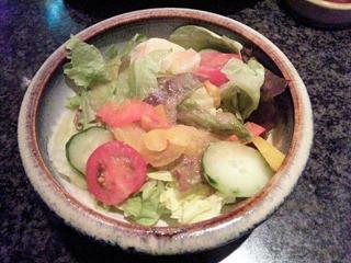 鉄板グリル銀杏/なごみランチのサラダ