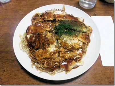 広島焼きみっちゃん総本店そば肉玉子