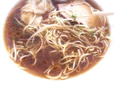 らんめんワンタンメンのスープ